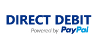 Direct debit by PayPal